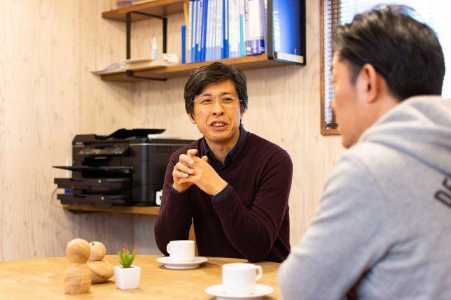 加藤淳一級建築士事務所・加藤淳さん。